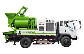 惠龙混泥土强制式车载泵K9