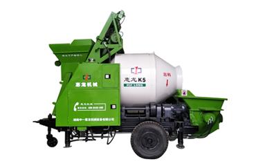 惠龙混泥土搅拌拖泵K5