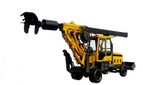 轮式旋挖钻机TX6-120B-优质王