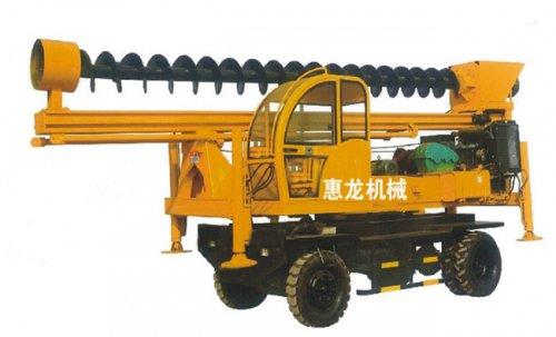 轮式螺旋钻机