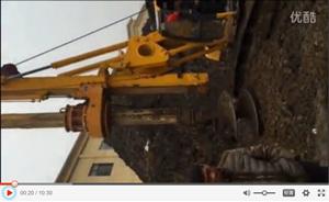 中一惠龙机械杆旋挖张家界施工现场